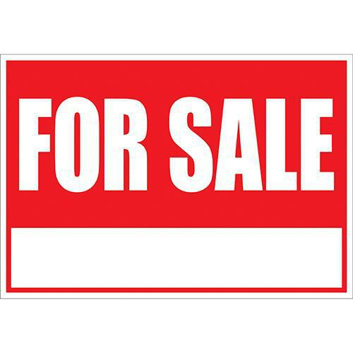FOR SALE SIGN  21.66