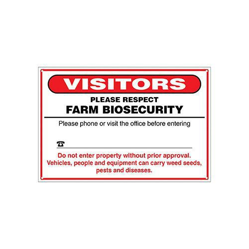 VISITOR BIOSECURITY  15