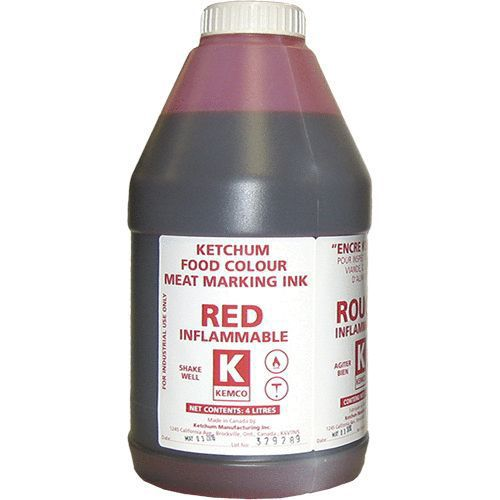 KEMCO INK RED  (LOT#